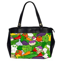 Vegetables  Office Handbags (2 Sides)  by Valentinaart