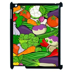 Vegetables  Apple Ipad 2 Case (black) by Valentinaart
