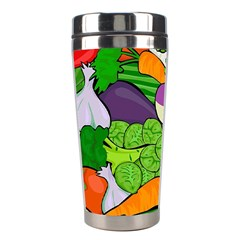 Vegetables  Stainless Steel Travel Tumblers by Valentinaart