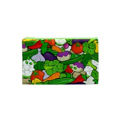 Vegetables  Cosmetic Bag (xs) by Valentinaart