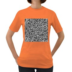 Pattern Women s Dark T Shirt by Valentinaart