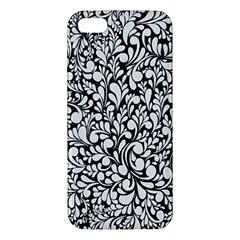 Pattern Apple Iphone 5 Premium Hardshell Case by Valentinaart