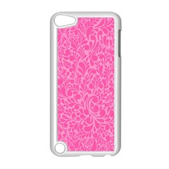 Pink Pattern Apple Ipod Touch 5 Case (white) by Valentinaart