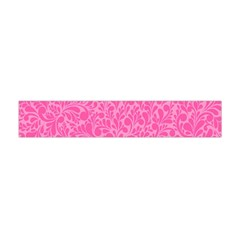 Pink Pattern Flano Scarf (mini) by Valentinaart