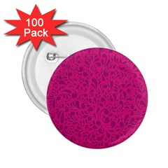 Pink Pattern 2 25  Buttons (100 Pack)  by Valentinaart