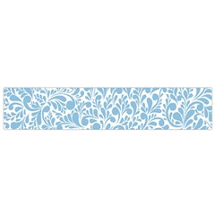 Blue Pattern Flano Scarf (small) by Valentinaart