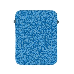 Blue Pattern Apple Ipad 2/3/4 Protective Soft Cases by Valentinaart