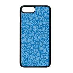 Blue Pattern Apple Iphone 7 Plus Seamless Case (black) by Valentinaart