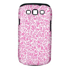 Pink Pattern Samsung Galaxy S Iii Classic Hardshell Case (pc+silicone) by Valentinaart