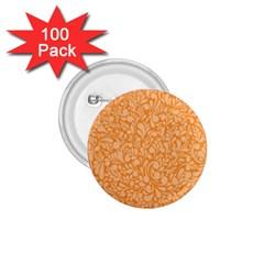 Orange Pattern 1 75  Buttons (100 Pack)  by Valentinaart