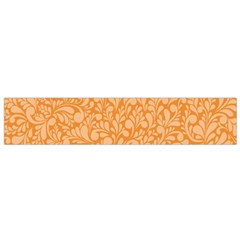 Orange Pattern Flano Scarf (small) by Valentinaart