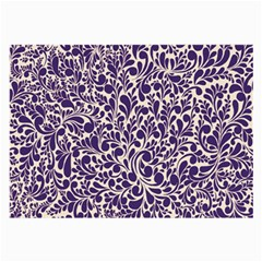 Purple Pattern Large Glasses Cloth by Valentinaart