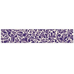 Purple Pattern Flano Scarf (large) by Valentinaart