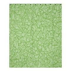 Green Pattern Shower Curtain 60  X 72  (medium)  by Valentinaart