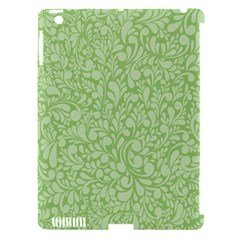 Green Pattern Apple Ipad 3/4 Hardshell Case (compatible With Smart Cover) by Valentinaart