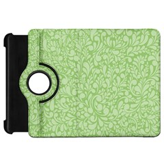Green Pattern Kindle Fire Hd 7  by Valentinaart