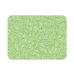Green Pattern Double Sided Flano Blanket (mini)  by Valentinaart