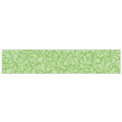 Green Pattern Flano Scarf (small) by Valentinaart