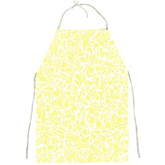 Yellow Pattern Full Print Aprons by Valentinaart