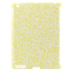 Yellow Pattern Apple Ipad 3/4 Hardshell Case (compatible With Smart Cover) by Valentinaart
