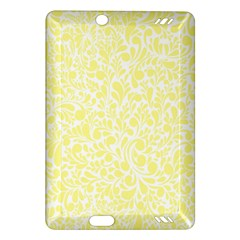 Yellow Pattern Amazon Kindle Fire Hd (2013) Hardshell Case by Valentinaart