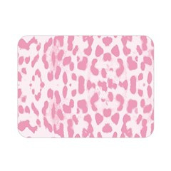 Leopard Pink Pattern Double Sided Flano Blanket (mini)  by Valentinaart