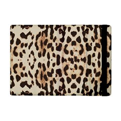 Leopard Pattern Apple Ipad Mini Flip Case by Valentinaart