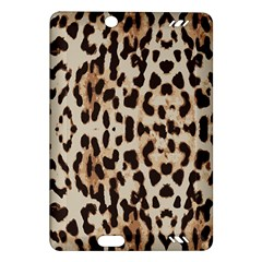 Leopard Pattern Amazon Kindle Fire Hd (2013) Hardshell Case by Valentinaart