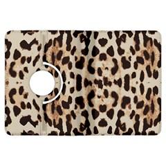 Leopard Pattern Kindle Fire Hdx Flip 360 Case by Valentinaart