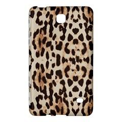 Leopard Pattern Samsung Galaxy Tab 4 (7 ) Hardshell Case  by Valentinaart