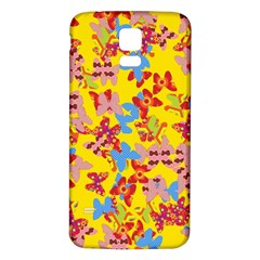 Butterflies  Samsung Galaxy S5 Back Case (white) by Valentinaart