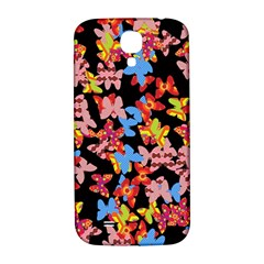 Butterflies Samsung Galaxy S4 I9500/i9505  Hardshell Back Case by Valentinaart