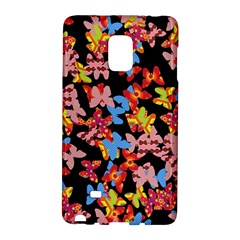 Butterflies Galaxy Note Edge by Valentinaart