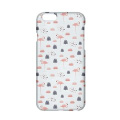 Cute Flamingos And  Leaves Pattern Apple Iphone 6/6s Hardshell Case by TastefulDesigns