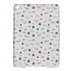 Cute Flamingos And  Leaves Pattern Ipad Air 2 Hardshell Cases by TastefulDesigns