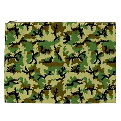 Camo Woodland Cosmetic Bag (xxl)  by sifis