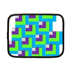 Geometric 3d Mosaic Bold Vibrant Netbook Case (small)  by Amaryn4rt