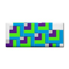 Geometric 3d Mosaic Bold Vibrant Cosmetic Storage Cases by Amaryn4rt