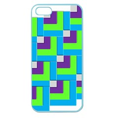 Geometric 3d Mosaic Bold Vibrant Apple Seamless Iphone 5 Case (color) by Amaryn4rt