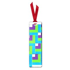 Geometric 3d Mosaic Bold Vibrant Small Book Marks by Amaryn4rt