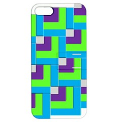 Geometric 3d Mosaic Bold Vibrant Apple Iphone 5 Hardshell Case With Stand by Amaryn4rt