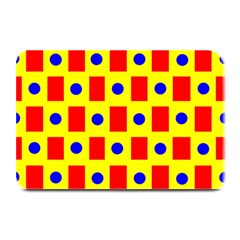 Pattern Design Backdrop Plate Mats by Amaryn4rt