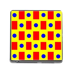 Pattern Design Backdrop Memory Card Reader (square) by Amaryn4rt