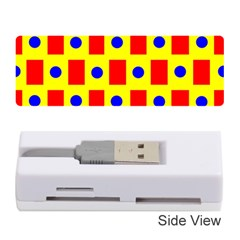 Pattern Design Backdrop Memory Card Reader (stick)  by Amaryn4rt