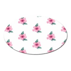 Etro Vintage Former Wallpaper Oval Magnet by Amaryn4rt