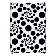 Dot Dots Round Black And White Apple Ipad Mini Hardshell Case by Amaryn4rt