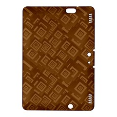 Brown Pattern Rectangle Wallpaper Kindle Fire Hdx 8 9  Hardshell Case by Amaryn4rt
