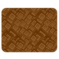 Brown Pattern Rectangle Wallpaper Double Sided Flano Blanket (medium)  by Amaryn4rt