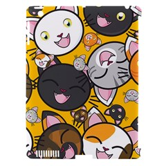 Cats Pattern Apple Ipad 3/4 Hardshell Case (compatible With Smart Cover) by Valentinaart