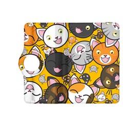 Cats Pattern Kindle Fire Hdx 8 9  Flip 360 Case by Valentinaart